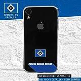 Hamburger SV HSV Schutzhülle - Nur der HSV 2019 - Smartphone Case passend für das Apple iPhone XR
