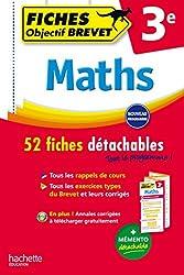 Objectif Brevet Fiches Détachables Maths