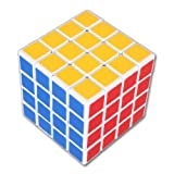 Oostifun New Shengshou 4x4x4 Speed Puzzle Magic Cube White