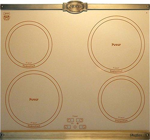 Kaiser Empire KCT 6395 Plaque de cuisson à induction avec 4 plaques de cuisson à induction QickHeat 60 cm