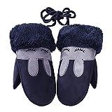Eizur Baby Carikatur Handschuhe Winter Warme Handschuhe Jungen Mädchen Kleinkind Einstellbar Handschuhe 7 Farben Optional - Typ C