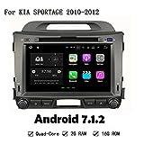 Android 7.1.2Auto-DVD-Player für KIA SPORTAGE 2010–2012GPS Navi Stereo System Head Unit mit Lenkrad Steuerung Auto Radio