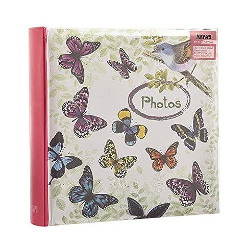 Arpan Vintage Butterfly - Bird Photo Album Slip In Case