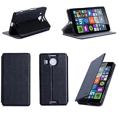 Nokia 535 Dual Sim - Etui luxe Microsoft Lumia 950 XL 4G/LTE