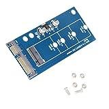 MagiDeal 1pc Adaptador Convertidor M2 NGFF SSD Disco Duro a SATA de Tarjeta de Expansión Regulador LDO Diseño Durable