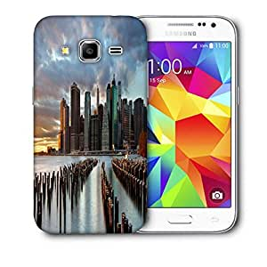 Snoogg Manhattan World Printed Protective Phone Back Case Cover For Samsung Galaxy CORE PRIME