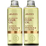 Jovees Bhringraj and Olive Hair oil 200 ml (pack of 2)