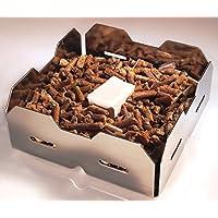 Panier d'allumage pour allumer un feu dans un poêle à bois avec granules de bois – Génération 4.0