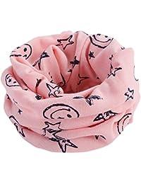 Kinder Schal CLOOM Warm Winter Loop Schal Cool Sterne muster Drucken Schlupfschal Junge Mädchen unisex Kopftücher Tücher Halstuch in verschiedenen Farben Baumwolle Schal