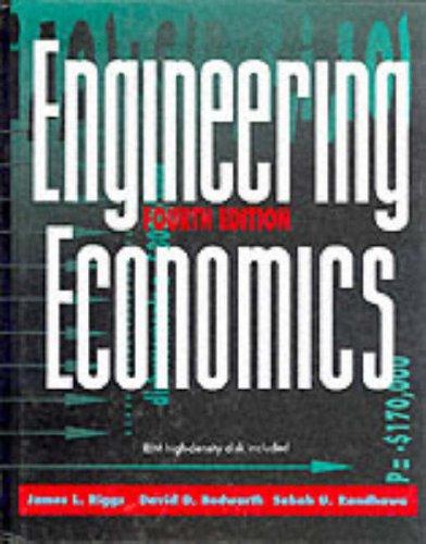 Engineering Economics (McGraw-Hill Series in Industrial Engineering & Management Science)