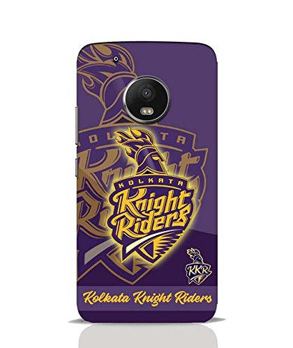 Shoptrip's mobile printed plastic back cover for Moto G5 -IPL - Kolkata Knight Riders