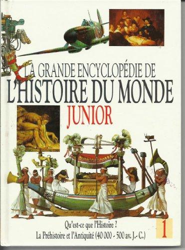 La grande encyclopédie de l'histoire du monde JUNIOR TOME 5