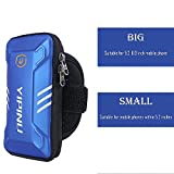 Running Armband Sport Armband Running Holder With Key Pocket For Iphone 8/7/6/6s Plus,Galaxy J7/S8/S7,Waterproof Armband Outdoor For Walking Cycling Biking