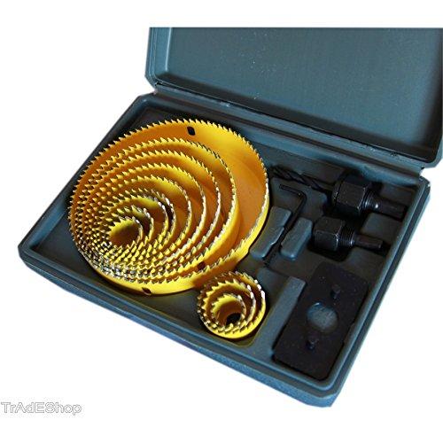Usato, TradeShopTraesio® - SET 16 PZ FRESE LEGNO FRESE A TAZZA usato  Spedito ovunque in Italia