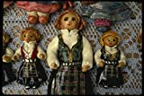 219060 Hand painted Ceramic Dolls From Stavanger A4 Photo
