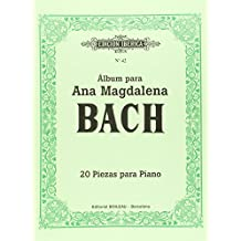 Álbum para Ana Magdalena Bach: 20 piezas para piano - 9788480203562