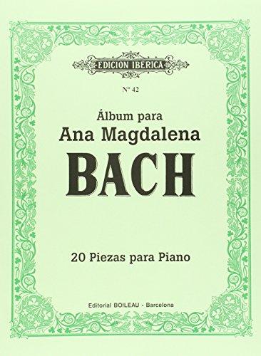 Álbum para Ana Magdalena Bach: 20 piezas para piano - 9788480203562 por Johann Sebastian Bach