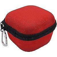 Etui Rigide en EVA Portable Voyage Housse pour Sony SRS-X11 Bluetooth orateur rouge