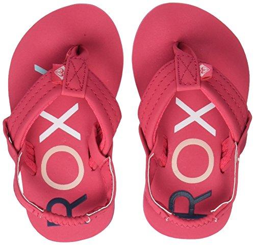 Roxy Mädchen Tw Vista II Sport Sandalen Pink (Berry Bry) 23 EU