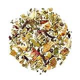 Entspannung Kamillen Kräuter Tee Bio - Lösen Sie Anspannung und Stress Kräuterteemischung Relax - Kamillentee zur entspannen - Lose Blätter Nerventee 200g