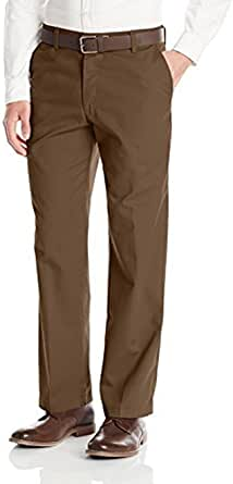 Lee Men's Total Freedom Straight-Fit Flat-Front Pant