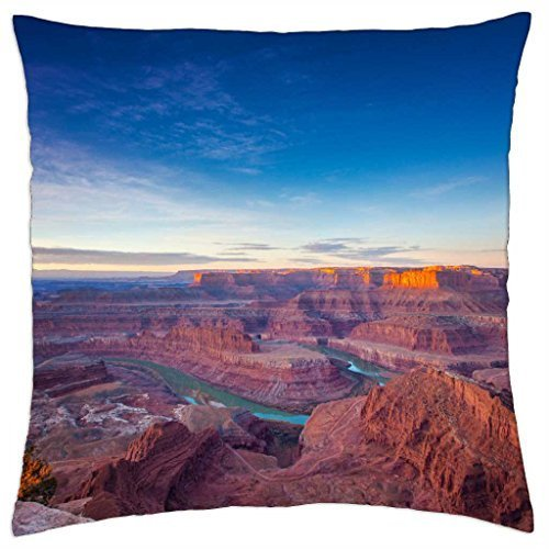 Dead Horse Point - Throw Pillow Cover Case (45,7 x 45,7 cm)