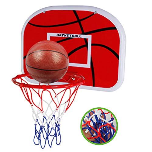 YQZ Verstellbarer Basketballständer für Kinder, Wand-Kinder-Schießständer, Basketballspielzeug für Kinder ab 3 Jahren -