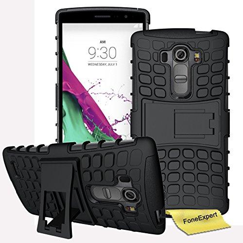 Preisvergleich Produktbild LG G4S / LG G4 Beat Handy Tasche, FoneExpert® Hülle Abdeckung Cover schutzhülle Tough Strong Rugged Shock Proof Heavy Duty Case für LG G4S / LG G4 Beat + Displayschutzfolie
