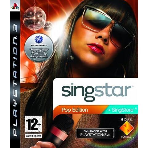 SingStar Pop Edition - PlayStation Eye Enhanced (PS3) [Importación Inglesa]