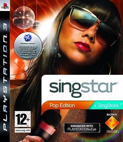 Ps3 Singstar - SingStar Pop Edition - Jeu seul (PS3)