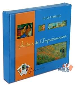 Jeu de 7 familles : Autour de l'impressionnisme