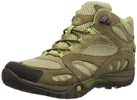 Merrell Azura Mid Gore-Tex®, Women's Trekking and Hiking Boots, J24308, Beige (Kangaroo), 8 UK