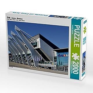 CALVENDO 4059478939295 ÖVB - Arena - Bremen 2000 Teile Lege-Größe 90 x 67 cm Foto-Puzzle Bild von Klünder Günther, Weiß