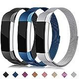 Onedream Compatible pour Fitbit Alta Bracelet/Alta HR Bracelets Femme Homme Bleu...