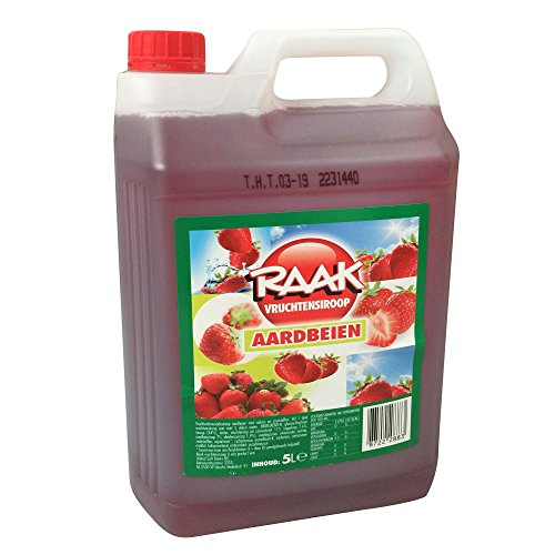 Erdbeer-kanister (Raak Vruchtensiroop Aardbeien (5l Kanister Erdbeere))