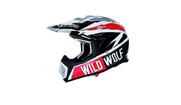 CASCO OFF-ROAD SHIRO MX-912 WILD WOLF UNICO TAGLIA M