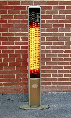 1.800 Watt Firefly™ Infrarot-Heizstrahler (Halogen) Terrassenheizung, freistehend, 2 Leistungsstufen, inkl. Fernbedienung - 4