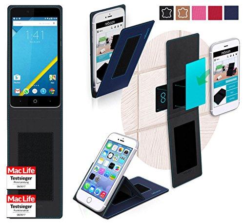 reboon Hülle für Elephone P6000 Tasche Cover Case Bumper | Blau | Testsieger