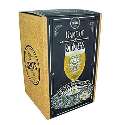 Paladone Mug Jeu de Rois bière en Verre, Multicolore