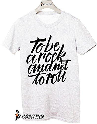 Tshirt To be a Rock - Tutte le taglie by tshirteria Bianco