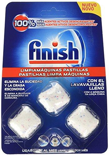 Finish Limpiamáquinas InWash - Paquete 8 unidades