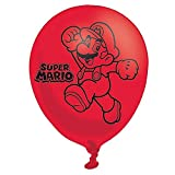 Amscan-9900743-279-cm-Super-Mario-Bros-4-faces-Ballons-en-latex