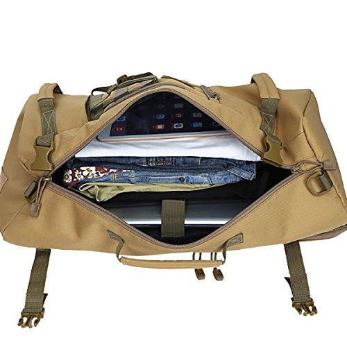 Militärrucksack Taktischer Rucksack Wasserdicht Im Freien Wandernden Taschen Wandern Mustang Militär Rucksack Reisen Taktische Taschen Bug. Multicolor,A-30*19*56cm Yy.f handbags