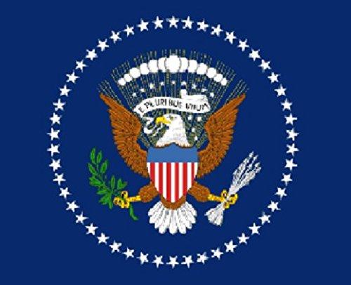 Perfectflags US-Präsidenten-Flagge, 150 x 90 cm, 100 % Polyester, mit Metallösen, doppelt genäht