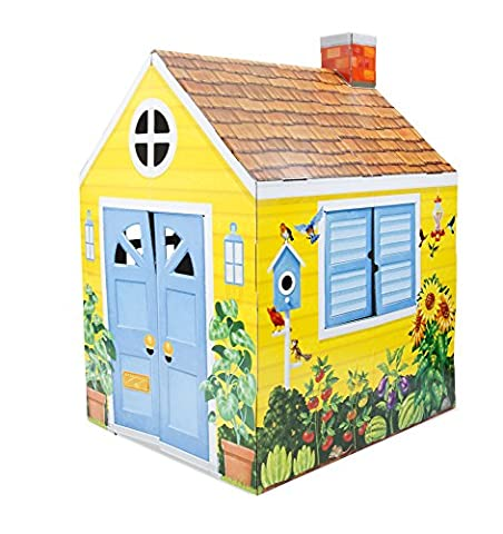 Melissa & Doug Country Cottage Indoor Corrugate Playhouse (Over 1.2 metres tall)