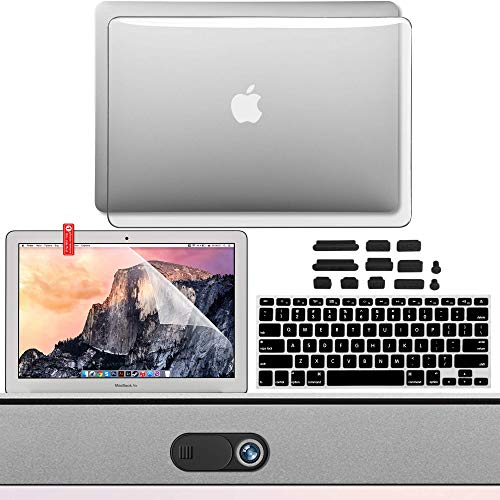 MBA3IN1 transparent 3 in 1 Clear Protection Kit Old Version MacBook Air 13