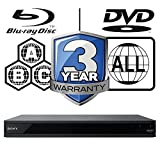 Sony UBP-X800.CEK MULTIREGION 4K Ultra HD ICOS Multi Region All Zone Code Free Blu-ray Player. Blu-ray zones A, B and C, DVD regions 1 - 8.