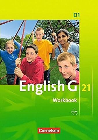 English G 21 - Ausgabe D: English G 21 D1: 5.Klasse. Workbook mit CD
