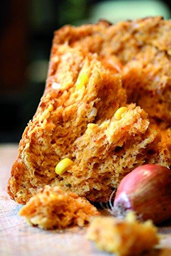 Backmischung im Weckglas für Zwiebel-Mais-Brot- Raffinierte Geschenkidee für Backfreunde- Backzutaten für die einfache Zubereitung von Zwiebel-Mais-Brot- Gourmetbackmischung von