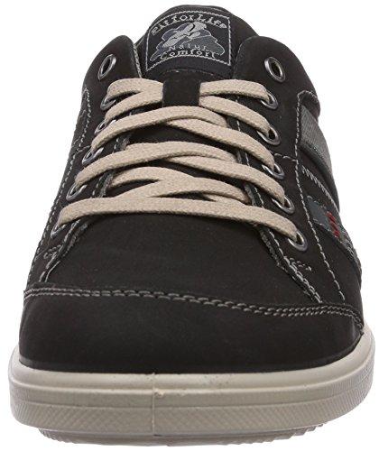 Jomos 1928, Baskets Basses homme Multicolore - Mehrfarbig (schwarz/jeans 908-0034)
